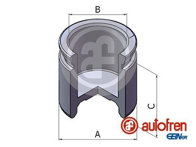 Piston etrier de frein AUTOFREN SEINSA D025450 (X1)