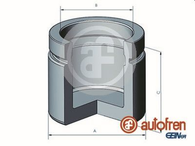 Piston etrier de frein AUTOFREN SEINSA D025487 (X1)