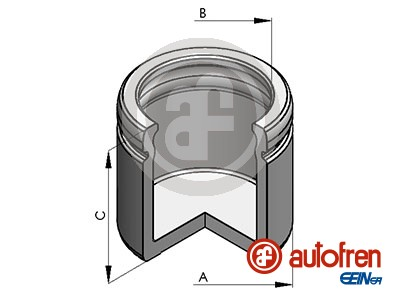 Piston etrier de frein AUTOFREN SEINSA D025491 (X1)