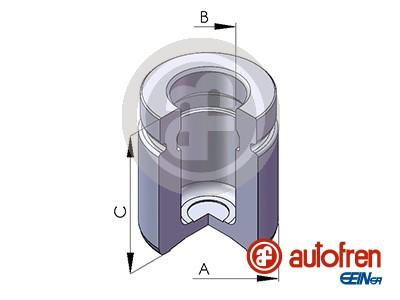 Piston etrier de frein AUTOFREN SEINSA D025518 (X1)