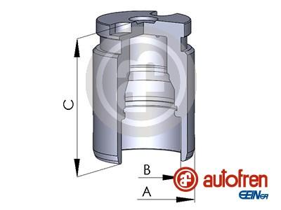 Piston etrier de frein AUTOFREN SEINSA D025545 (X1)