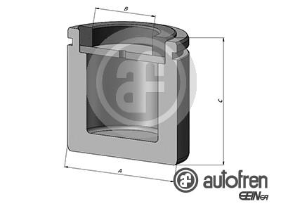 Piston etrier de frein AUTOFREN SEINSA D025573 (X1)