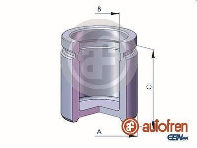 Piston etrier de frein AUTOFREN SEINSA D025590 (X1)