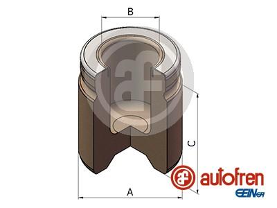 Piston etrier de frein AUTOFREN SEINSA D025592 (X1)