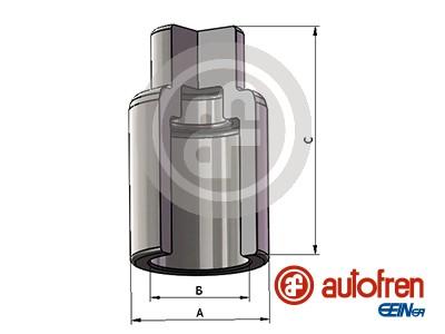 Piston etrier de frein AUTOFREN SEINSA D025640 (X1)