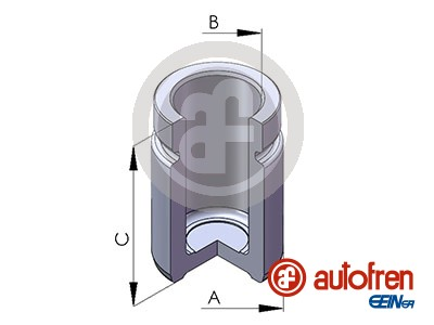 Piston etrier de frein AUTOFREN SEINSA D025648 (X1)