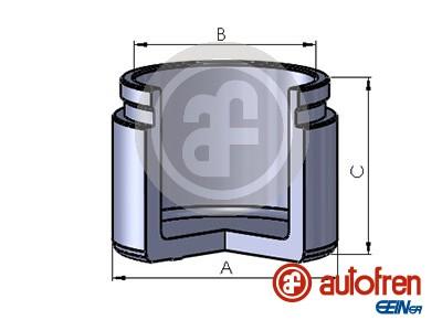 Piston etrier de frein AUTOFREN SEINSA D025677 (X1)