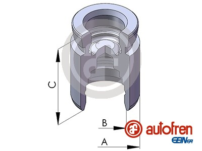 Piston etrier de frein AUTOFREN SEINSA D02568 (X1)