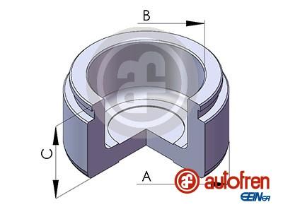 Piston etrier de frein AUTOFREN SEINSA D025697 (X1)