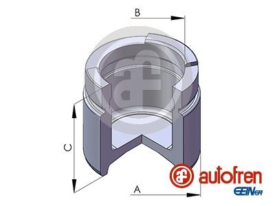 Piston etrier de frein AUTOFREN SEINSA D02571 (X1)
