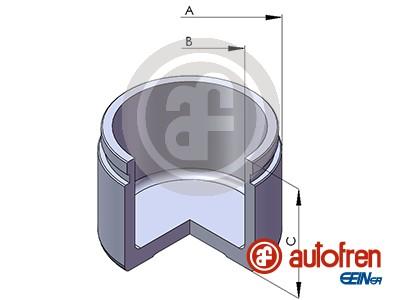 Piston etrier de frein AUTOFREN SEINSA D02575 (X1)