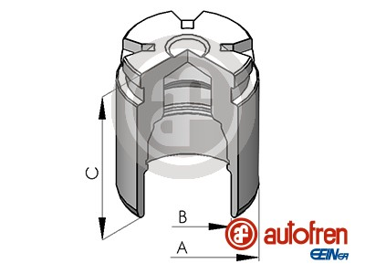 Piston etrier de frein AUTOFREN SEINSA D02578 (X1)