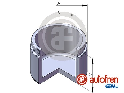 Piston etrier de frein AUTOFREN SEINSA D02596 (X1)