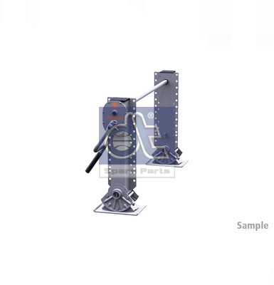 Dispositif de fixation d'attelage DT Spare Parts 10.98923 (X1)