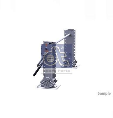 Dispositif de fixation d'attelage DT Spare Parts 10.98926 (X1)