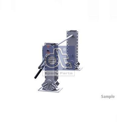 Dispositif de fixation d'attelage DT Spare Parts 10.98927 (X1)