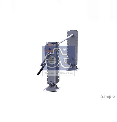Dispositif de fixation d'attelage DT Spare Parts 10.98935 (X1)