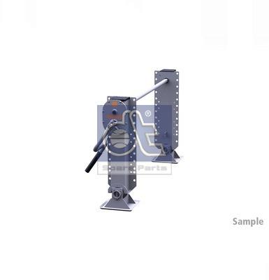 Dispositif de fixation d'attelage DT Spare Parts 10.98937 (X1)