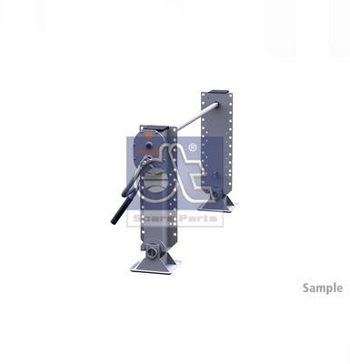 Dispositif de fixation d'attelage DT Spare Parts 10.98938 (X1)