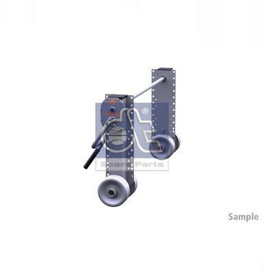 Dispositif de fixation d'attelage DT Spare Parts 10.98939 (X1)