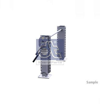Dispositif de fixation d'attelage DT Spare Parts 10.98945 (X1)