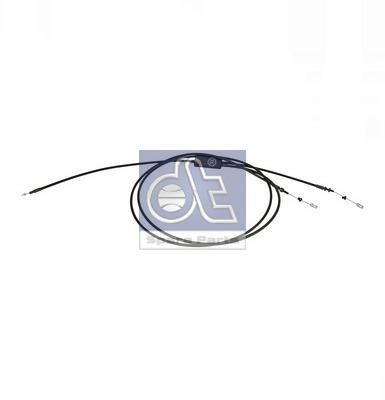 Cable d'ouverture capot DT Spare Parts 1.22874 (X1)