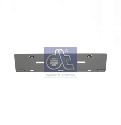 Support de plaque d'immatriculation DT Spare Parts 4.62039 (X1)