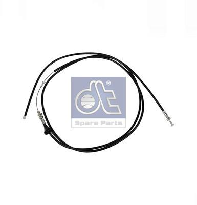 Cable d'ouverture capot DT Spare Parts 4.62110 (X1)