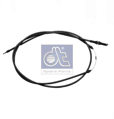 Cable d'ouverture capot DT Spare Parts 4.63409 (X1)