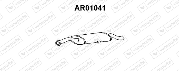 Silencieux arriere VENEPORTE AR01041 (X1)