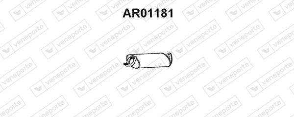 Silencieux central VENEPORTE AR01181 (X1)