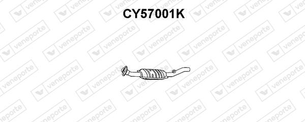 Catalyseur VENEPORTE CY57001K (X1)