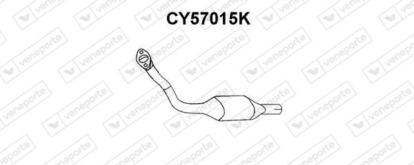 Catalyseur VENEPORTE CY57015K (X1)