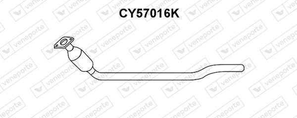 Catalyseur VENEPORTE CY57016K (X1)