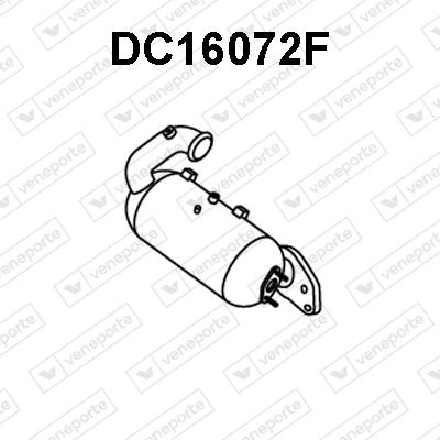 Filtre a particules - FAP VENEPORTE DC16072F (X1)
