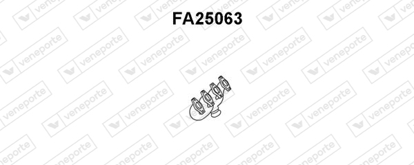 Collecteur d'echappement VENEPORTE FA25063 (X1)