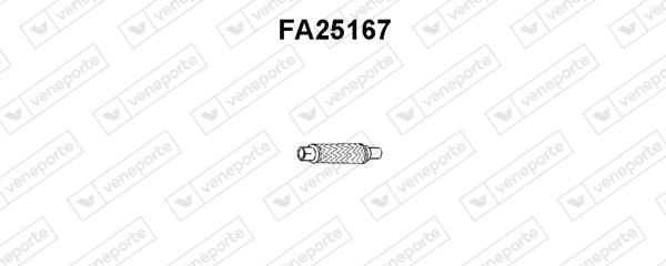 Tube d'echappement VENEPORTE FA25167 (X1)