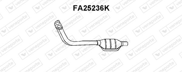 Catalyseur VENEPORTE FA25236K (X1)