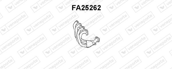 Collecteur d'echappement VENEPORTE FA25262 (X1)