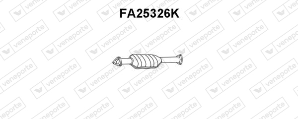 Catalyseur VENEPORTE FA25326K (X1)