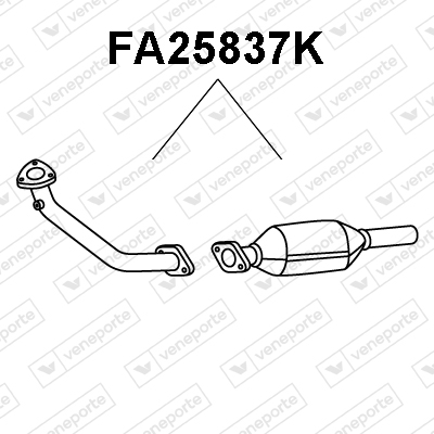 Catalyseur VENEPORTE FA25837K (X1)