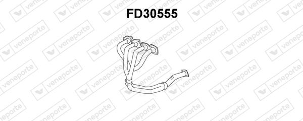 Collecteur d'echappement VENEPORTE FD30555 (X1)