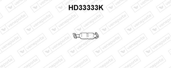 Catalyseur VENEPORTE HD33333K (X1)