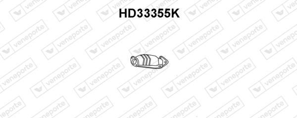 Catalyseur VENEPORTE HD33355K (X1)