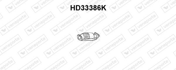 Catalyseur VENEPORTE HD33386K (X1)