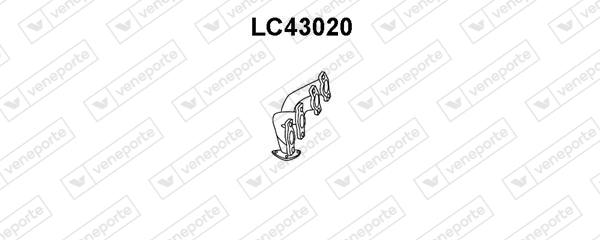 Collecteur d'echappement VENEPORTE LC43020 (X1)