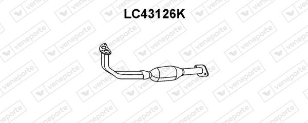 Catalyseur VENEPORTE LC43126K (X1)