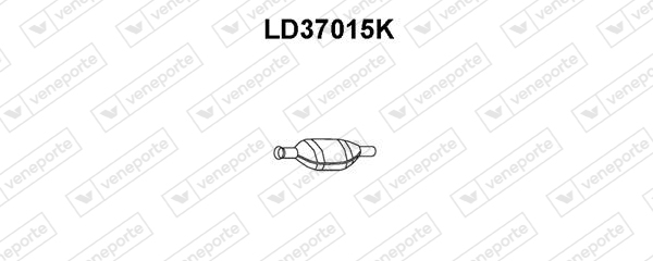 Catalyseur VENEPORTE LD37015K (X1)