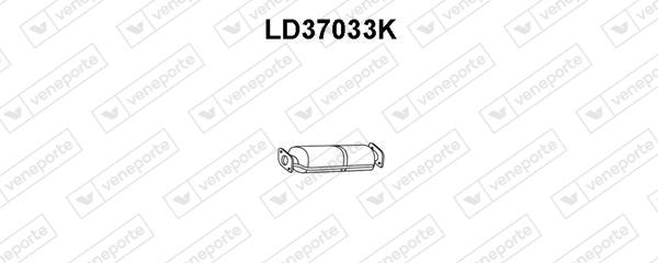 Catalyseur VENEPORTE LD37033K (X1)