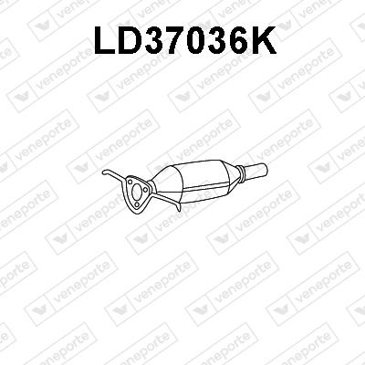 Catalyseur VENEPORTE LD37036K (X1)